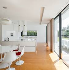 architecture dining room white modern house decoration using