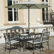 Portofino Patio Furniture Alexander Rose Portofino 6 Seat Rectangular Garden Furniture Set