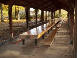 lovable long picnic table 10 picnic table plans myoutdoorplans