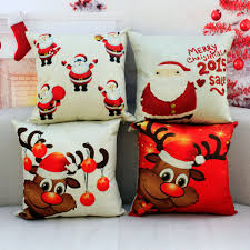 Sofa Pillows Covers by 10x Christmas Throw Pillows Covers Merry Christmas Gifts To Every