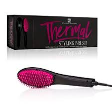 stylus thermal styling brush video amazon com brilliance new york 3 in 1 thermal styling hair brush