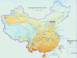 Luoyang China Map by Your Guide To China Temperature