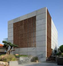 concrete block house unique concrete house in israel