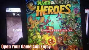 plants vs zombies heroes hack coloring pages youtube
