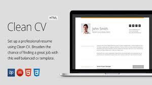 Bootstrap Resume Template Clean Cv U2013 Responsive Resume Template 4 Bonuses Website