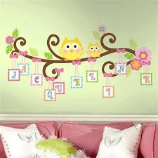 owl bedroom decor owl themed bedroom owls on a tree wall decals for girls rooms and