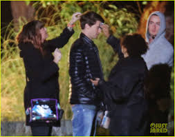 patrick schwarzenegger crashes a house party for bella thorne on