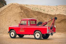 land rover truck james bond 1966 land rover recovery truck uncrate