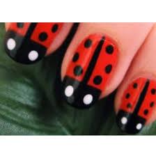 ladybug nails nails pinterest spring lady and so cute