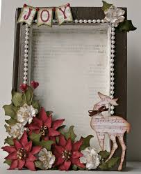 michelle u0027s scrap bits recycled book christmas frame with tutorials