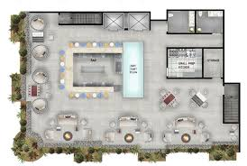 bar floor plans charming 3 roof top plan rooftop bar floor plan homepeek