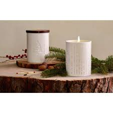 thymes candles thymes frasier fir ceramic heritage candle