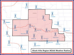 noaa weather radio for the black hills region