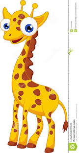 cute giraffe cartoon stock photo image 32563290