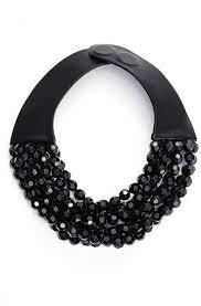 black bead collar necklace images Fairchild baldwin bella beaded collar necklace where to buy jpg