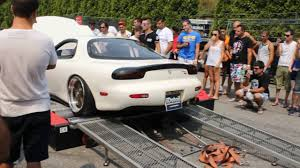 mazda rx7 fd3s dyno on btms 2016 pure sound youtube