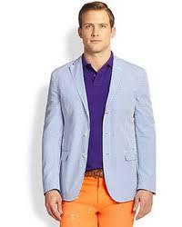 ralph lauren light blue men s light blue blazers by polo ralph lauren men s fashion