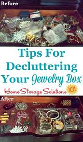 how to get rid of jewelry clutter