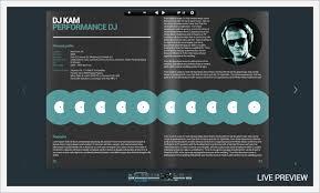 Dj Resume Minimalistix Dj Press Kit By Vinyljunkie Graphicriver