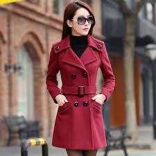 red winter coat womens coat racks