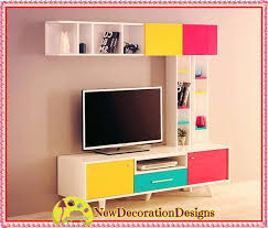 new arrival modern tv stand wall units designs 010 lcd tv modern tv cabinet designs with colorful tv unit design ideas new