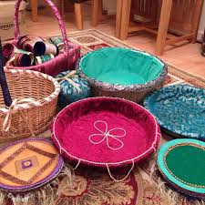Indian Engagement Decoration Ideas Home Homemade Mehndi Thaals And Baskets Wedding Ideas Pinterest