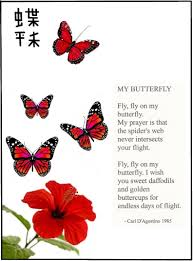 my butterfly by carl d agostino i i made you smile