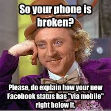 Broken Phone Meme - awesome broken phone meme bb10 verizon update mighty wallpaper