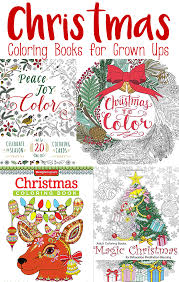 jolly christmas coloring books for adults easy peasy and fun