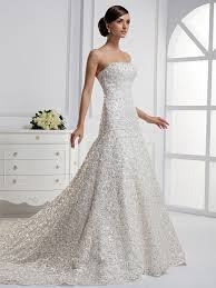 sequined wedding dress cat a for wedding lace