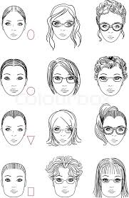 hairstyles based on the shape of head forms of womens head types of face shape correct and wrong