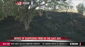 Wildfire Antioch Ca by Possible Arsonist On The Loose After Series Of Fires In Antioch
