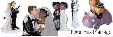 figurine mariage mixte figurines de mariage pour décorer la table de mariage