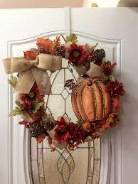 35 thanksgiving door wreath ideas for warm welcoming