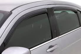 Exterior Door Rain Deflector by Avs In Channel Ventvisor Smoke Window Deflectors
