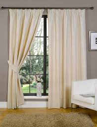 White Lined Curtains White Linen Pencil Pleat Curtains Decoration And Curtain Ideas