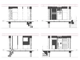 Bauhaus Floor Plan Building For The Gap U2013 Experimental Housing Units For Sub Saharan