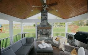 screened porch outdoor fireplace gas images 1214 interior decor