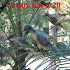new arrivals 20 plastic bird landscape garden ornaments decoration