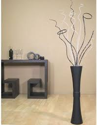 Large Decorative Floor Vases Tall Floor Vase Large Wooden Decorative Decor With Branches Modern