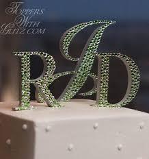 monogram cake toppers monogram cake toppers cake jewelry wedding monogram