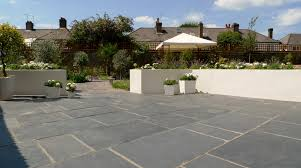 Large Paver Patio by Architectural Archives London Garden Blog Modern Design Natural