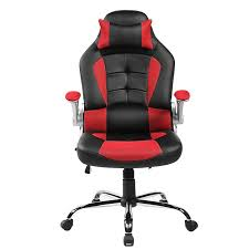 Lumbar Support Chairs Merax High Back Ergonomic Pu Leather Office Chair Racing Style