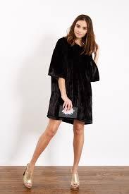 black faux fur oversized t shirt dress u2013 ragyard