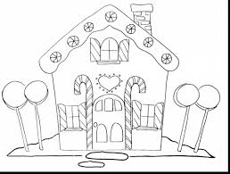 gingerbread coloring page surprising gingerbread house coloring pages with house coloring