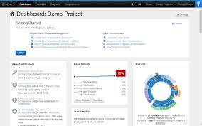 project dashboard innoslate help center