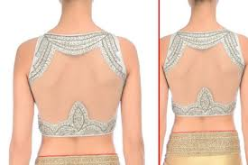 22 beautiful back designs for your saree blouses that will you