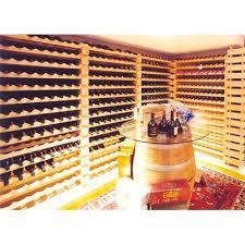 modularack wooden wine rack 36 bottle natural pine wine racks