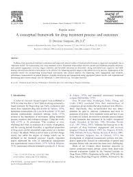 conceptual framework sample thesis a conceptual framework for drug treatment process and outcome pdf a conceptual framework for drug treatment process and outcome pdf download available