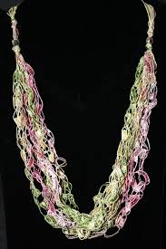 pattern to make out of ladder yarn necklace patterns patterns kid
